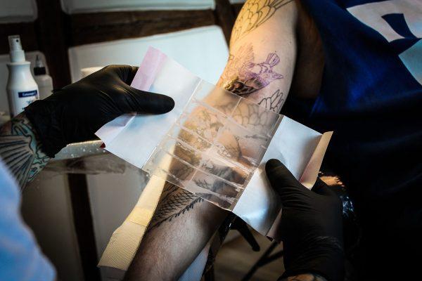 Suprasorb F Tattoo