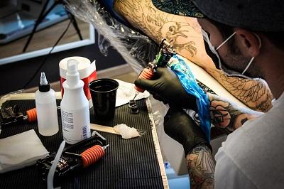 Tattoo Pflege workflow